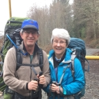 1st Leg of the Pacific Northwest National Scenic Trail -Saturday, April 1, 2017