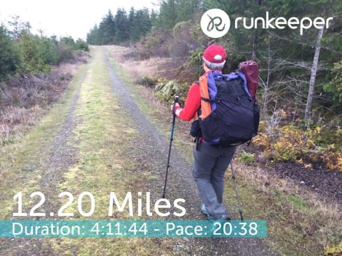 12.2 mile trainer 4-5-18