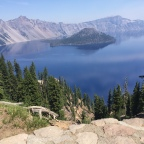 Derailed in Dunsmuir; Back on Track at Crater Lake